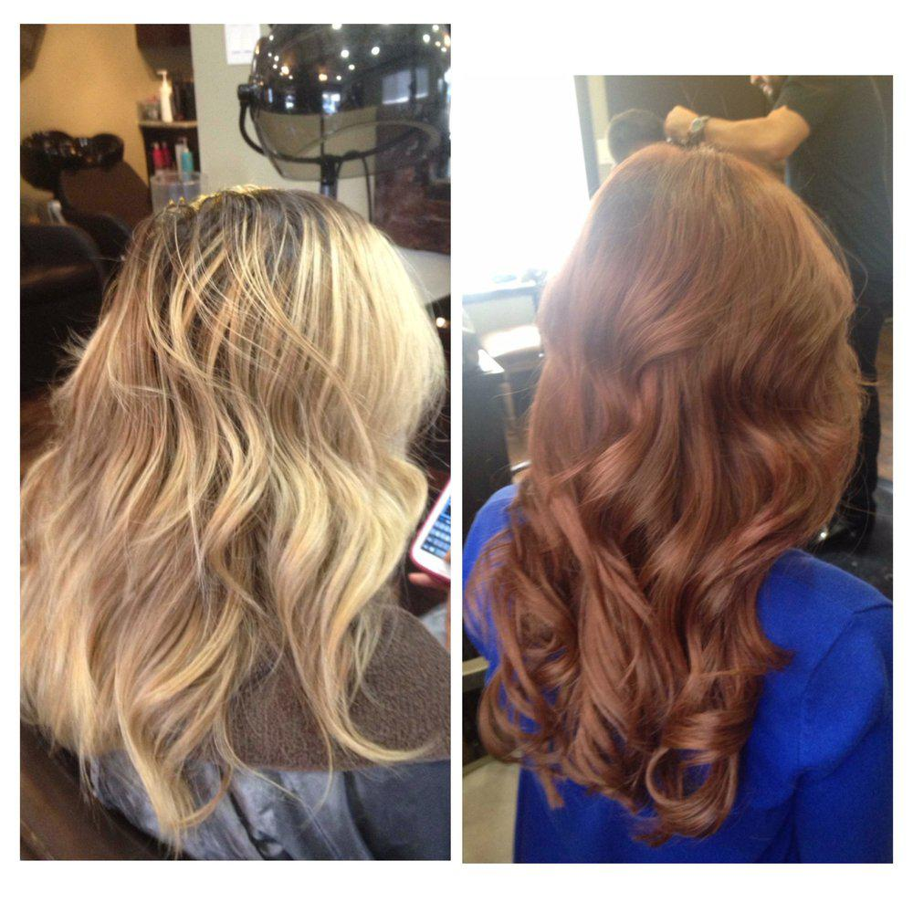 Smooth Gorgeous Shine Long Hair With Highlights Ombre New Hair Color